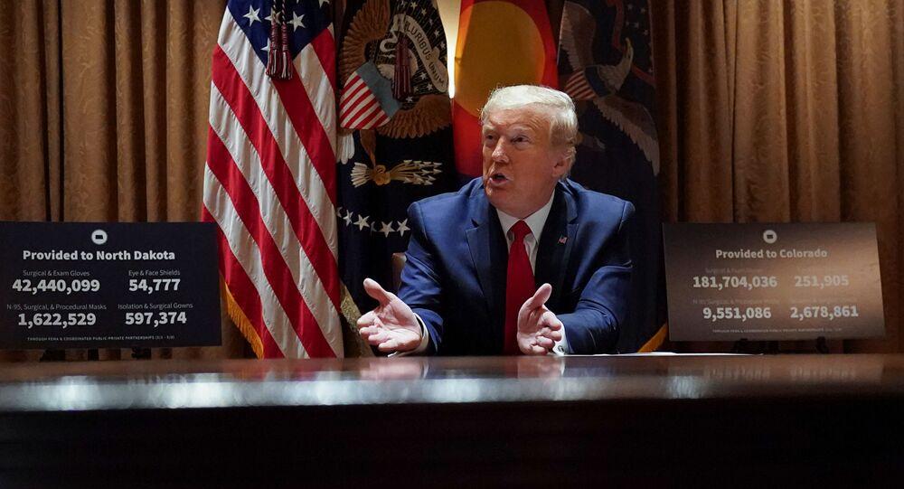 トランプ大統領 米国のオープンスカイズ条約からの脱退を確認