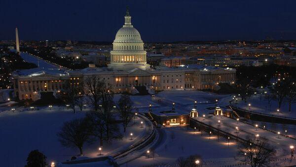 Здание Конгресса США в Вашингтоне - Sputnik 日本
