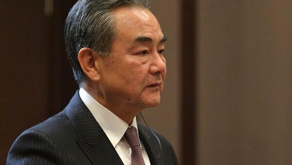 中米の関係悪化の責任はトランプ前大統領にある=王毅外相 - Sputnik 日本