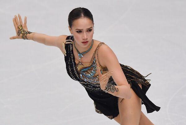 2019年グランプリファイナルの女子フリーで演技するザギトワ選手 (イタリア、トリノ) - Sputnik 日本