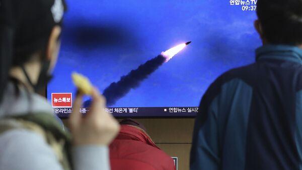 北朝線ミサイル - Sputnik 日本