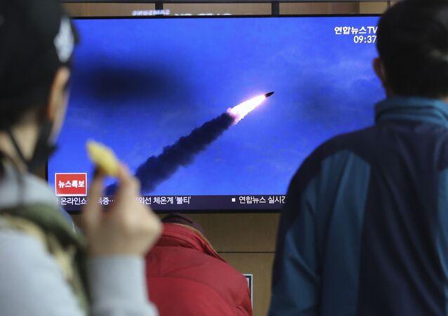 北朝線ミサイル