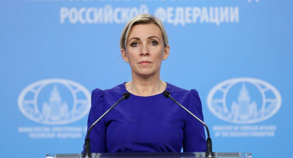 ロシア外務省のマリヤ・ザハロワ報道官