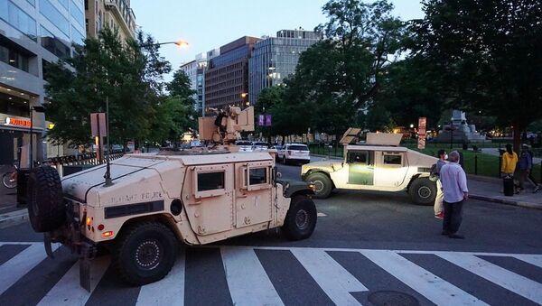 ワシントン首都圏に兵士約1600人配置 - Sputnik 日本