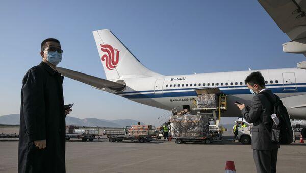 中国国際航空 - Sputnik 日本