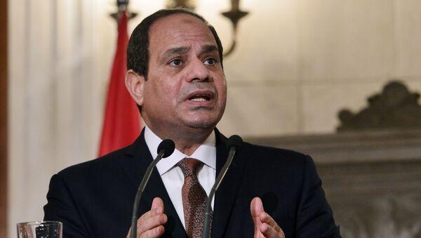 Президент Египта Абдел Фаттах ас-Сиси - Sputnik 日本