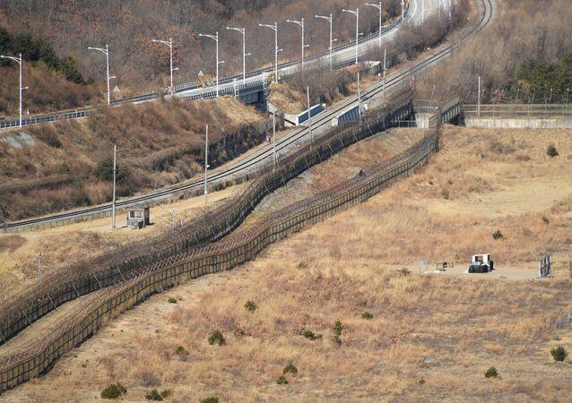 韓国 国境