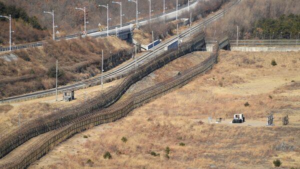 韓国 国境 - Sputnik 日本