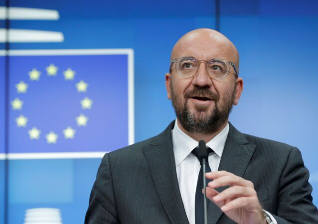欧州理事会のシャルル・ミシェル議長