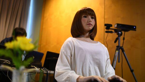 日本製のロボットERICA(アーカイブ写真) - Sputnik 日本
