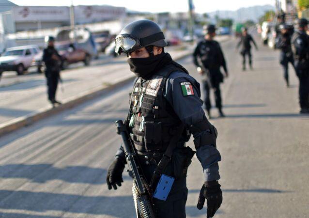 メキシコ警察(アーカイブ写真)