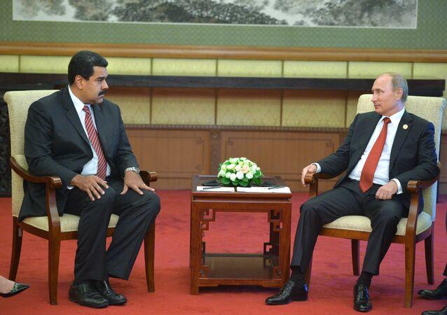 ロシア、ベネズエラ両首脳会談が北京で、テーマは石油市場の安定化