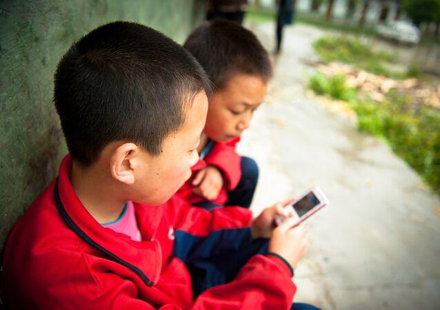 中国の子供たち