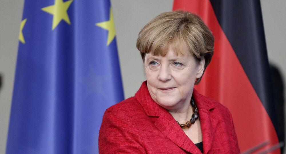 メルケル首相 難民問題は、ロシア参加の下で解決する必要がある