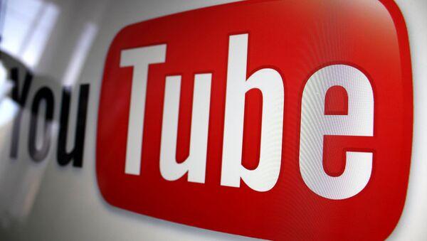 Youtube logo - Sputnik 日本