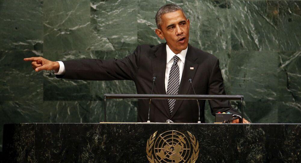 米大統領、国連総会演説でロシア、中国と米国に挑戦を招きかねない国呼ばわり