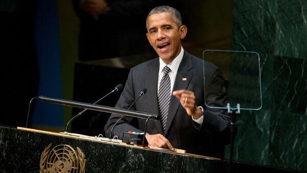 オバマ氏、米国はシリア紛争解決のためにロシアと協力の構え - Sputnik 日本