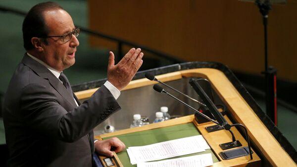 オランド仏大統領、シリアの正常化の国際連合軍は可能かつ不可欠 - Sputnik 日本