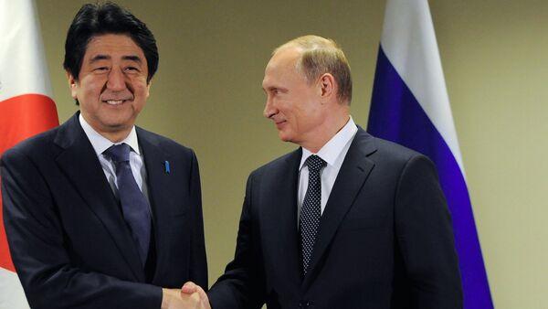 プーチン大統領、安倍首相との会談:共同プロジェクトの多さが露日の貿易拡大へつながる - Sputnik 日本