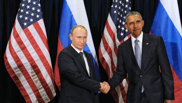 オバマ大統領とプーチン大統領 - Sputnik 日本