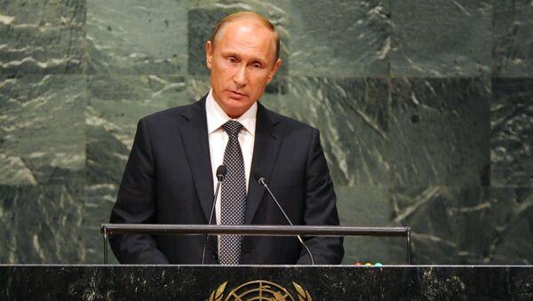 プーチン大統領の国連総会演説 - Sputnik 日本