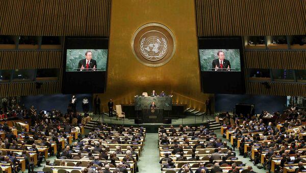 LIVE 第70回国連総会で世界のリーダーらが演説、生中継 - Sputnik 日本